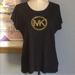Michael Kors Studded Logo Tee S M